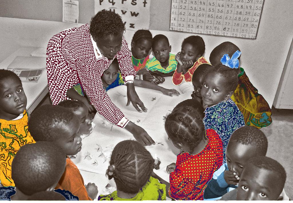 Kindergarten Class - Kenya