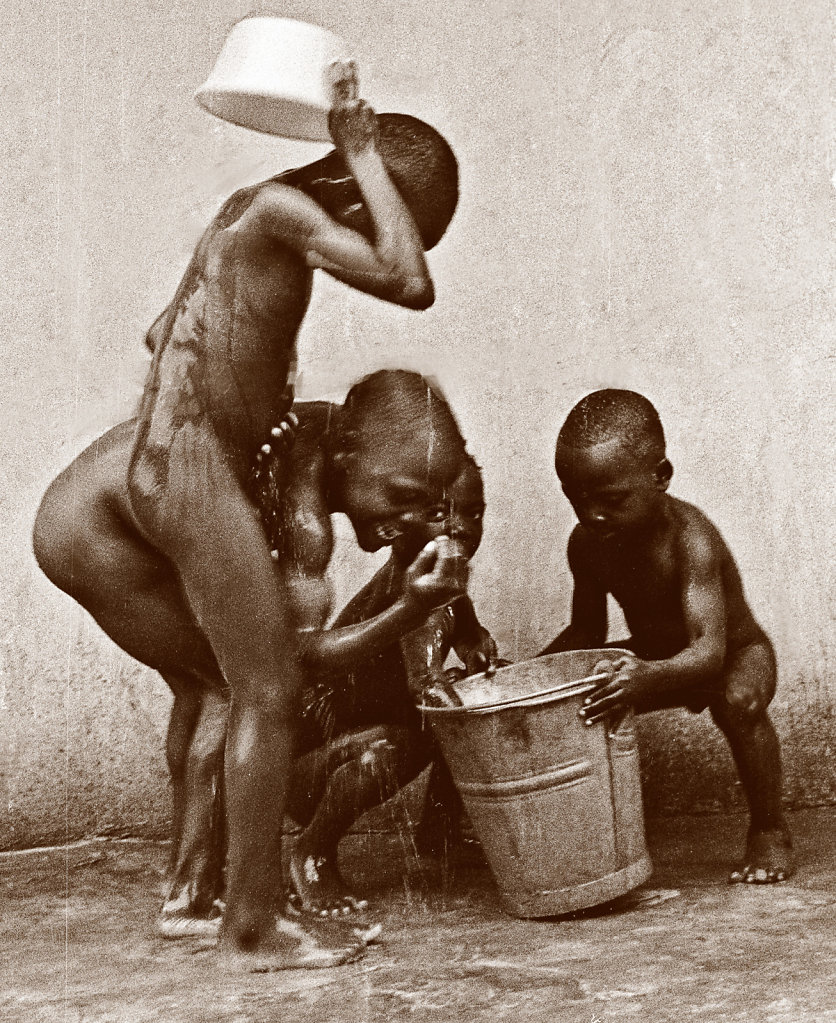 Bucket Bath - Nigeria
