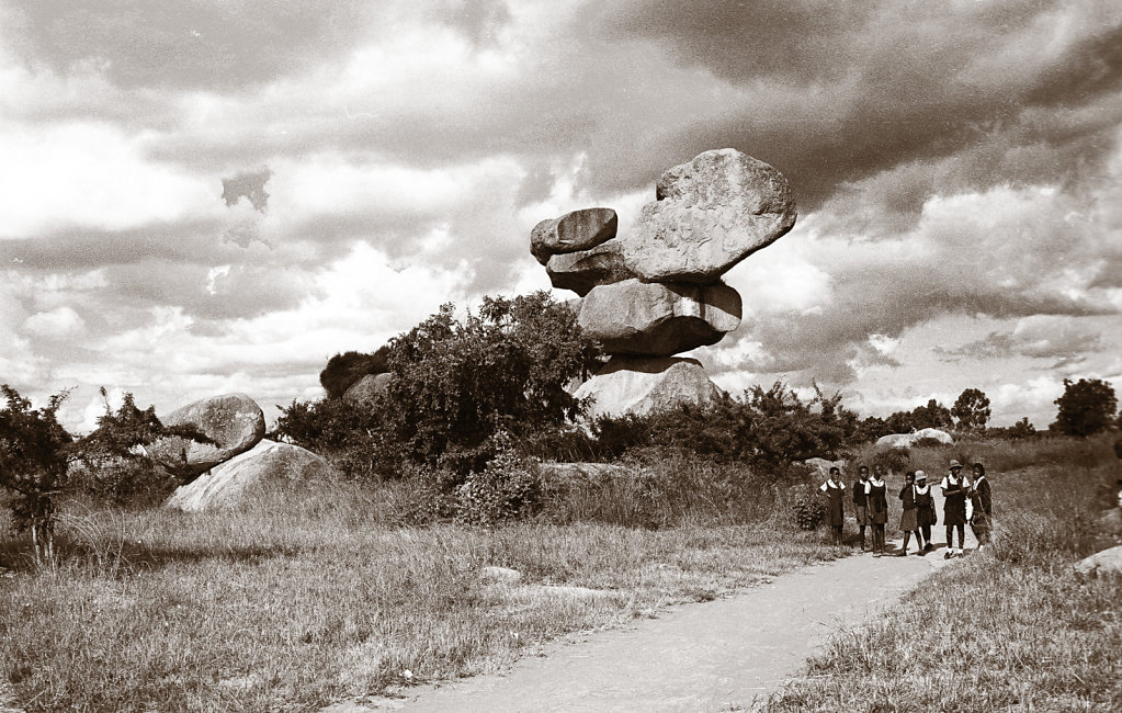 Balancing Rocks - Zimbabwe
