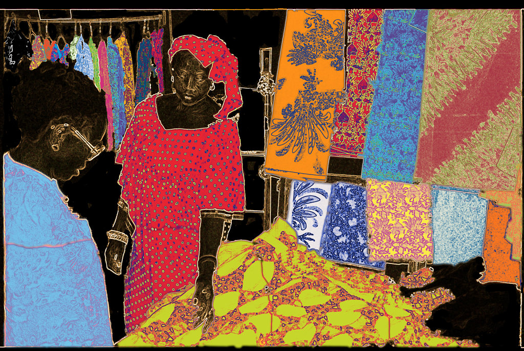 Fabric Shop - Senegal